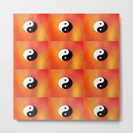 Yin and Yang 5 - Tao,Zen,Taoism,Dao,Harmony,religion,buddhism,buddhist,taijitu,taiji,taoist,china Metal Print