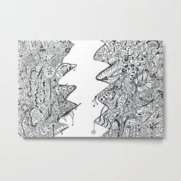 Breaking the Pattern Metal Print
