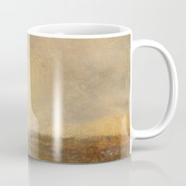 "J.M.W. Turner ""Stormy Sea Breaking on a Shore"" Coffee Mug"