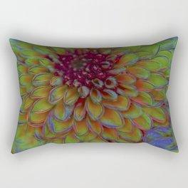 chrysanthemum in the garden Rectangular Pillow