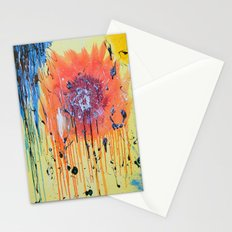 Bleeding poppy Stationery Cards