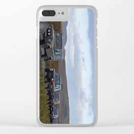 Landrover Convoy Clear iPhone Case