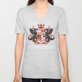 Dragon Crest Unisex V-Neck