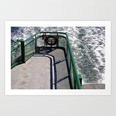 The Ferry Art Print
