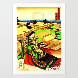 Kyoto Ukiyoe Landscape Art Print