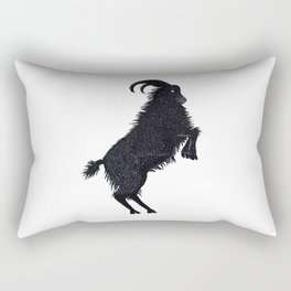 Black Phillip (Fan Art) Rectangular Pillow