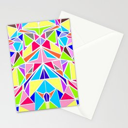 Colorful Machaon Stationery Cards