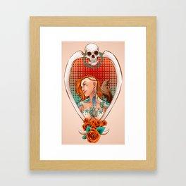Suicide Raven Framed Art Print