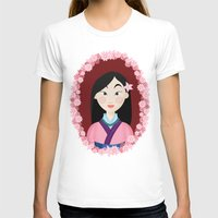 mulan T-shirts featuring Mulan  by Joey Ellson