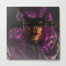 Hit Girl Metal Print