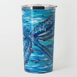 Blue Dragonfly 2 Travel Mug