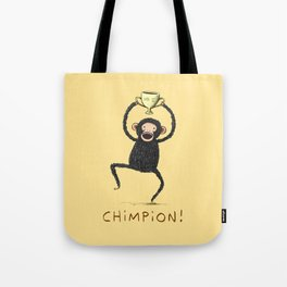 Chimpion Tote Bag