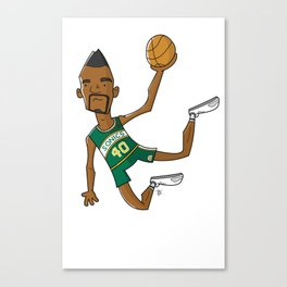 Shawn Kemp Canvas Print