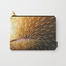 Solitary Coral Carry-All Pouch