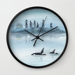 Nature is my home Wall Clock