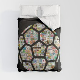 Dark Philately Soccer Ball Comforters