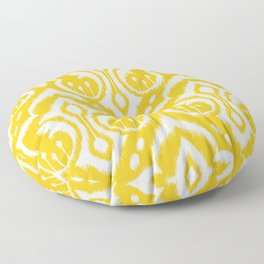Ikat Damask Floor Pillow
