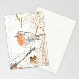 Kleine rote Vögelchen (Little red birdies) Stationery Cards