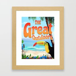 The Great Outdoors Toucan Framed Art Print