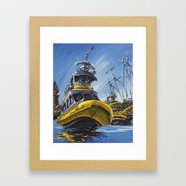 Ocean Magic Framed Art Print
