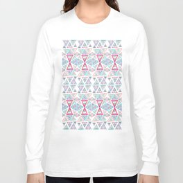 Triangles and Tribal Long Sleeve T-shirt