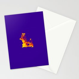 Ours Republique purple Stationery Cards
