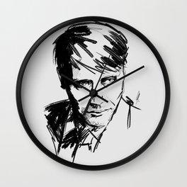 Mads Mikkelsen #2 Wall Clock