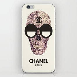 COUTURE SKULL iPhone Skin