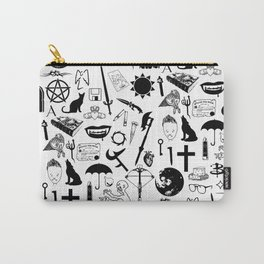 Buffy Symbology, Black Carry-All Pouch