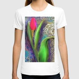 TULIP FLORAL T-shirt