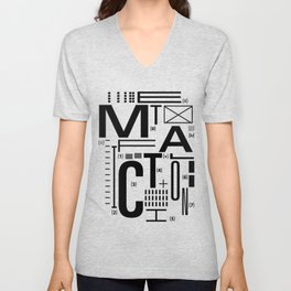 METAL FICTION Unisex V-Neck