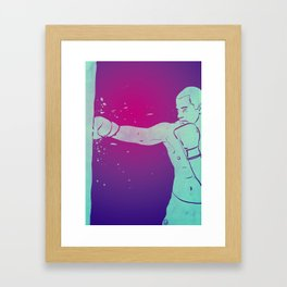 Boxing Club 6 Framed Art Print