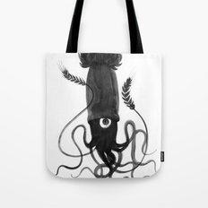 Beer Squid Tote Bag