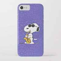 snoopy iPhone & iPod Cases featuring Snoopy by DisPrints