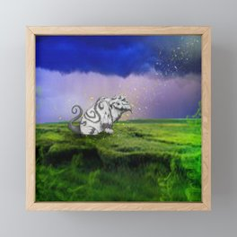 I Believe In Gruff Framed Mini Art Print