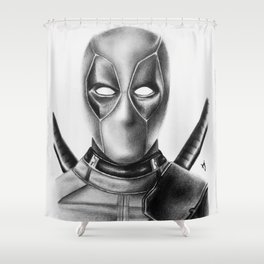 Dead-pool Shower Curtain