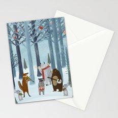 nature symphony Stationery Cards