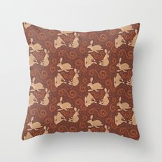 Hare Hoedown Throw Pillow