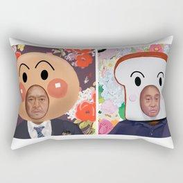 Anpanman Matsumoto and Shokupanman Hamada Rectangular Pillow