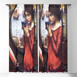 John William Waterhouse's Destiny Blackout Curtain