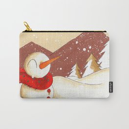 Mountain Flurry Carry-All Pouch