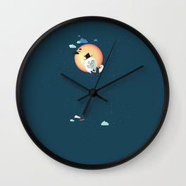 Monsieur Salut Wall Clock