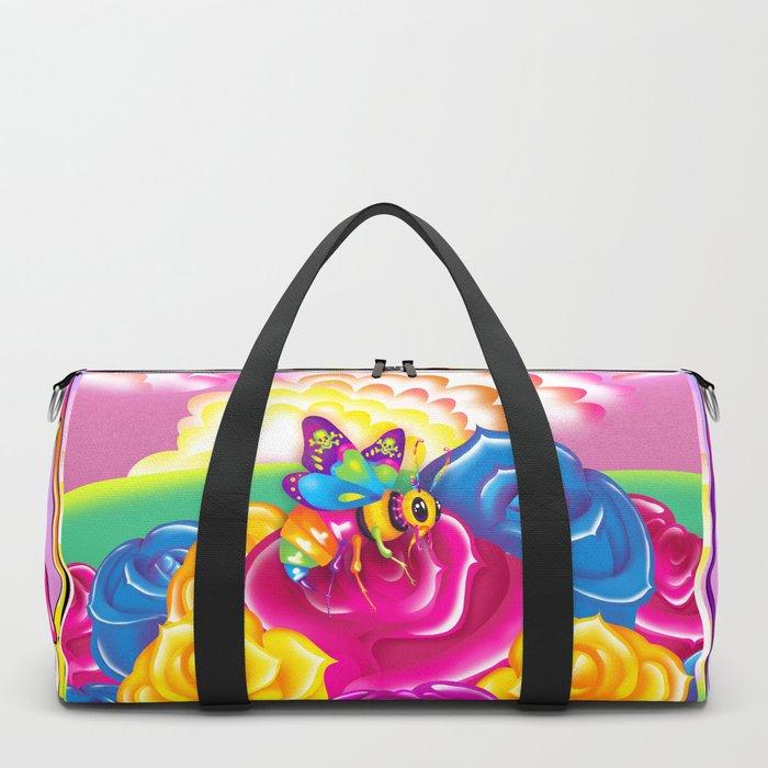 1997 Neon Rainbow Beelzebub Duffle Bag