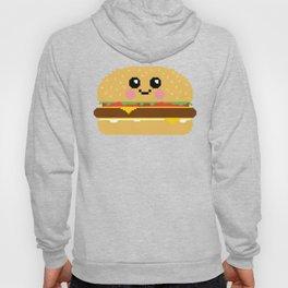 Happy Pixel Hamburger Hoody