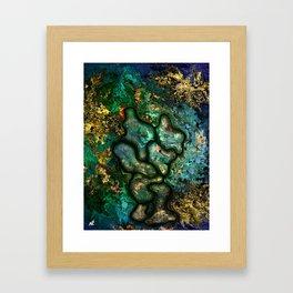 Copper worker by rafi talby Framed Art Print