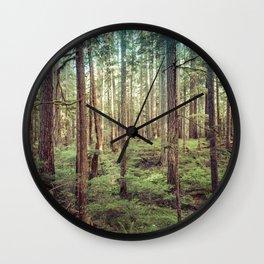 Outdoor Adventure Wall Clock