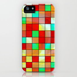 checkered II iPhone Case