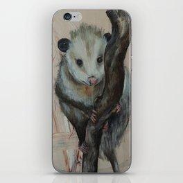Cute Opossum iPhone Skin