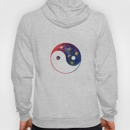 Yin Yang Symbol Watercolor Hoody