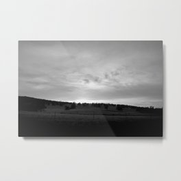 Darkest At Dawn Metal Print